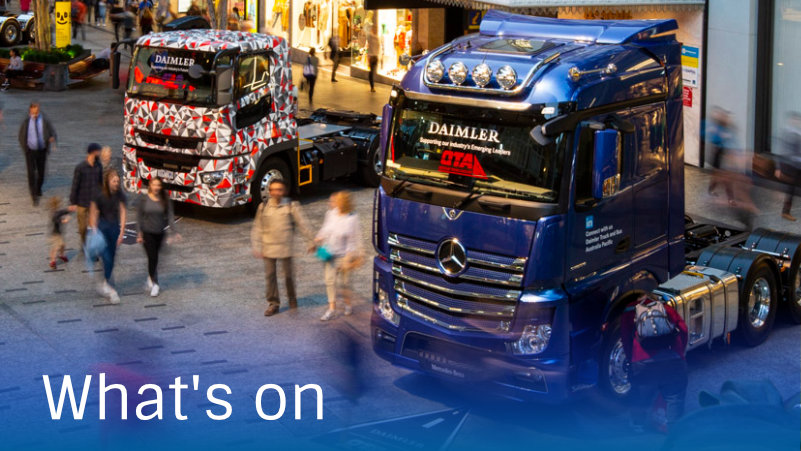 Visitor Information for the Brisbane Truck Show