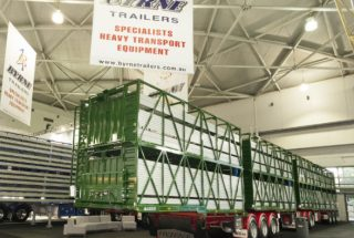 Byrne Trailers at the Brisbane Truck Show