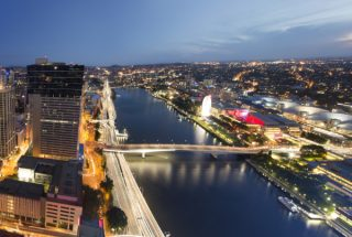 Brisbane River Southbank BCEC