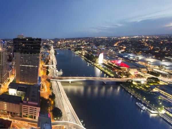 Brisbane River Southbank BCEC