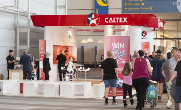 Caltex at the Brisbane Truck Show
