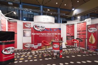 Hi-Tec Oils at the Brisbane Truck Show