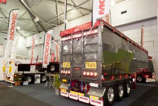 Moore Trailers at the Brisbane Truck Show