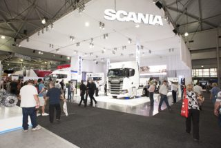 Scania at Brisbane Truck Show
