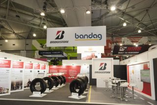 Bridgestone / Bandag at the Brisbane Truck Show