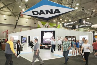 Dana Australia at the Brisbane Truck Show