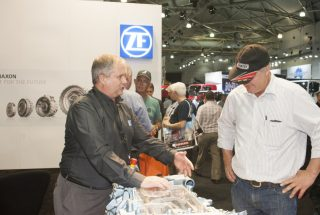 ZF Services Australia at the Brisbane Truck Show