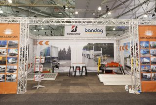 Dhollandia Hydraulic Tail Lifts at the Brisbane Truck Show