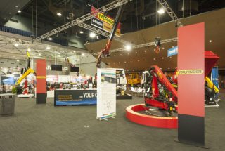 Gough Palfinger Australia at the Brisbane Truck Show