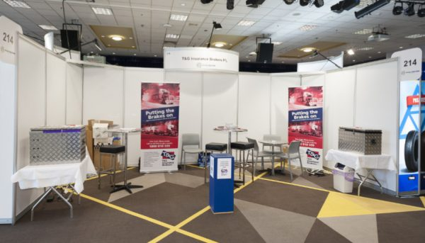 T & G Insurance Brokers at the Brisbane Truck Show