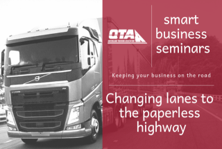 Changing lanes to the paperless highway