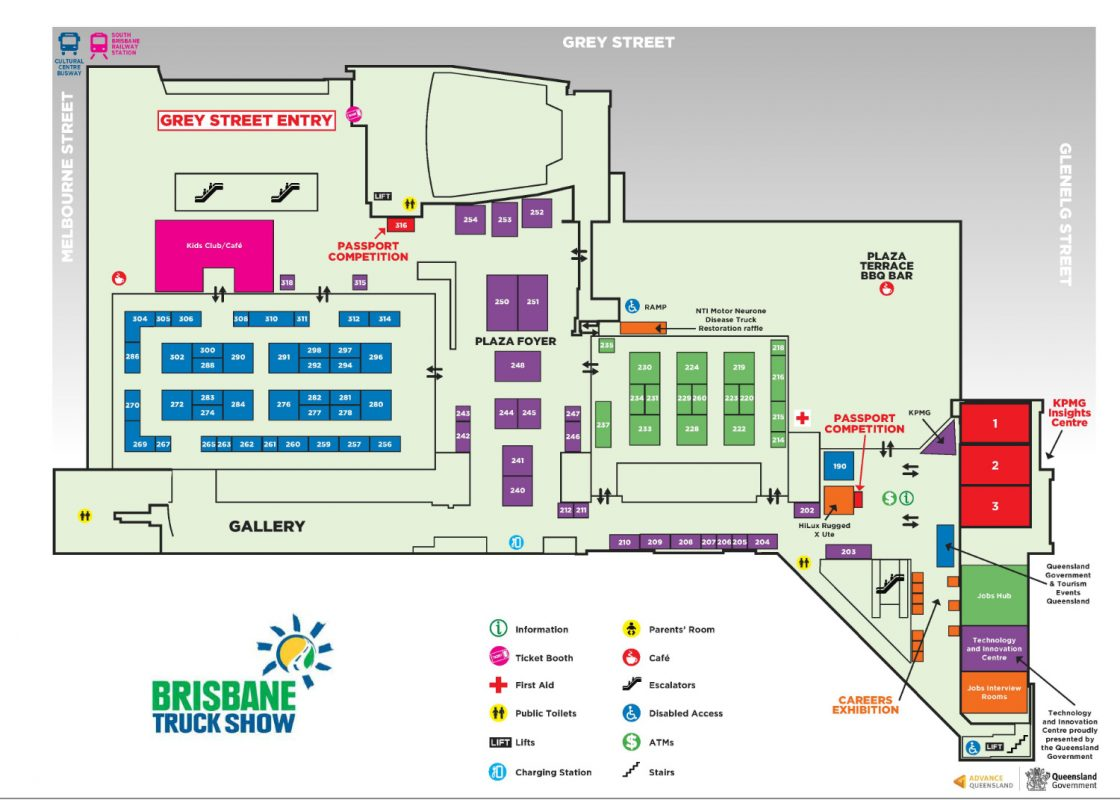 Brisbane Truck Show Floor Plan