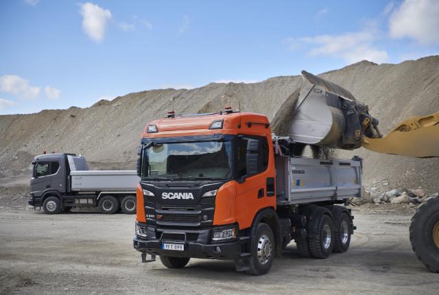 Scania G 500 XT 6x4 tipper