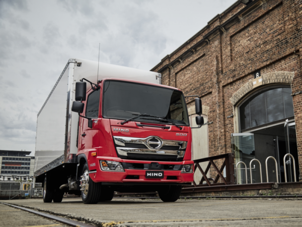 Hino Takes Safety to New Levels with 500 Series Standard Cab - Brisbane  Truck Show